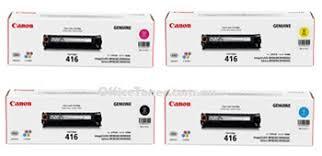 Mực in Canon Laser Cartridge 416 C/M/Y